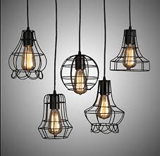 industrial cage lighting. GENERIC A : Wholesale Price Industrial Cage Lighting Edison Pendant Light Vintage Lamp Fixtures