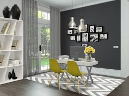 yellow office decor. Grey \u0026 Yellow Office By Andreia Alexandre Interior Styling Decor .