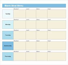blank menu template free download 21 blank menus psd vector eps