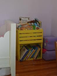 kids bookshelf easy to make yourself im doing this too