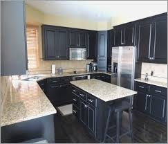 black kitchen cabinets with white marble countertops. Black Cabinets White Marble Countertops Kitchen With T