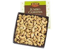 jumbo cashew nuts gift box by buddy squirrel