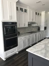 kitchen design white cabinets stainless appliances. Black Stainless Kitchenaid Appliances White Cabinets Kitchen Design B