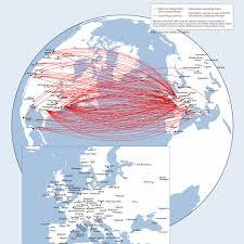 Route Map Between U S Europe Delta News Hub