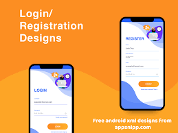 Design App Free Free Android Login Designs With Xml Source Code By Kapil