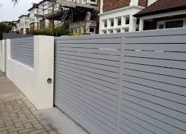 Small Picture Front Wall Fence Designs Modern Garden Garden Design Ideas With