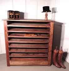 rustic storage cabinets. French Artist\u0027s Plan Chest, Rustic Pine Storage Cabinet Cabinets