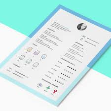 resume template cv icons bies icons fribly