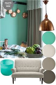 Palette of the Week: Copper, teal and grey 2014 March | Life.Style