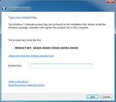 windows 7 keys and simple