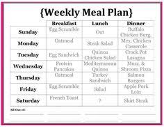 Easy Diet Chart Diet Plan For Weight Loss