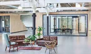 industrial style office. headquarters of smartphone manufacturer fairphone industrial style office c