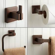 oil rubbed bronze bathroom accessories. Ultra 4 Piece Bathroom Accessory Set Oil Rubbed Bronze Accessories Signature Hardware