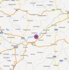 Kayseri'de 4,1 büyüklüğünde deprem