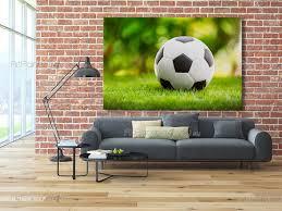 Fotobehang Posters Voetbal Artpainting4youeu Mcd1050nl