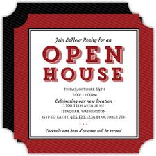 Invitation To Open House Business Open House Invitations Business Open House Announcements