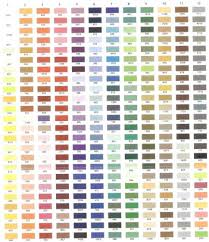 Brother Thread Conversion Chart 52 Memorable Gutermann Embroidery Thread Conversion Chart To