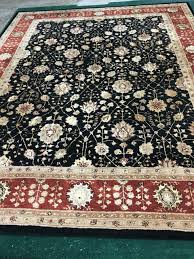 400 8 x 10 tufted wool rug although this rug is pre owned you would never know it beautiful and elegant