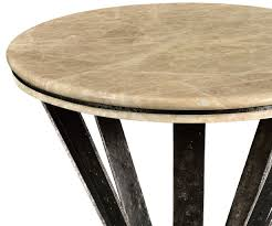 round and oval coffee tables dark marble top round coffee table with iron base