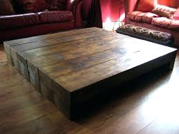 rustic square coffee table large coffee table coffee tables coffee table red leather sofa footstool natural rustic square coffee table