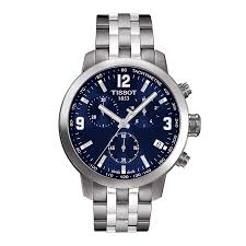 tissot watches quality swiss watches ernest jones watches tissot prc200 men s stainless steel bracelet watch product number 9534857