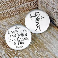 ball markers. personalised silver golf ball marker markers