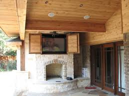 Over The Fireplace Tv Cabinet Stone Fireplace Storage Entertainment Center Ideas Marvelous