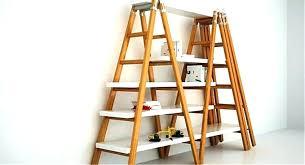 ladder shelf ladder shelf shelves step shelving unit ms white ladder shelf ikea australia