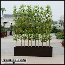 outdoor artificial bamboo to enlarge