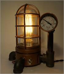 steampunk lighting. Lighting:Steampunk Lamp Ideas Magnificent Best Desk Idea Shade Diy Kit Parts Steampunk Lighting