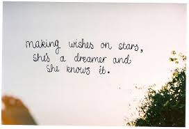 Dreamer Quotes Gorgeous Making Wishes On Stars She's A Dreamer And She Knows It Unknown