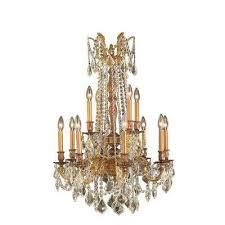 windsor 12 light french gold chandelier with golden teak crystal
