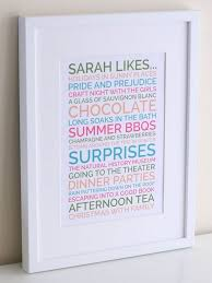 a unique likes poster is a great present for your friend