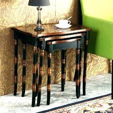 black coffee table sets coffee table set of 3 side tables side table set of 3