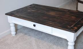 ultimate guide to coffee table diy refinished tables