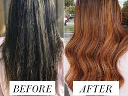 Dying Black Hair To Light Ash Brown How My Hair Colorist Corrected The Worst Dye Job Ive Ever