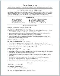 Free Cna Resume Templates Cool Cna Resume Templates Free Letsdeliverco