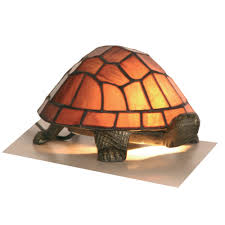 tortoise lighting. Tiffany Animals 1x25w Decorative Tortoise Light Fitting In Purple - Oaks Lighting OT 950 PU O