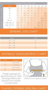 Pumpease Size Chart Pumpease Hands Free Pumping Bra Now With Straps Tuxedo M