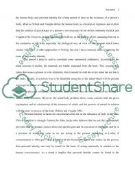 personal identity essay example topics and well written essays  personal identity essay example