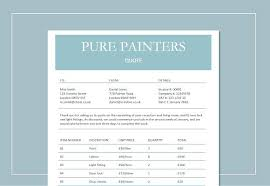 Cleaning Print Quote Template Free Service Quotation Sample Excel ...