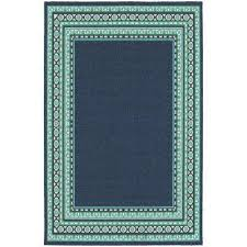 tonga navy 5 ft x 8 ft indoor outdoor area rug