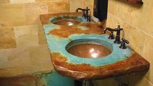 Copper Undermount Bathroom Sink Custom Copper Basins Round Valley
