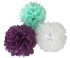 Party Decorations Tissue Paper Balls HEARTFEEL 100pcs Tissue Paper Pompoms Flower Ball Wedding Party 99