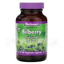 <b>Standardized Bilberry Fruit Extract</b> 120 Ve - Bluebonnet Nutrition