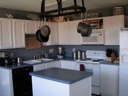 Updated Kitchen Remodelaholic Updated Kitchen Counter Tops Back Splash And