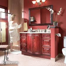 remodel your bathroom with a new vanity cabinet countertop and sink