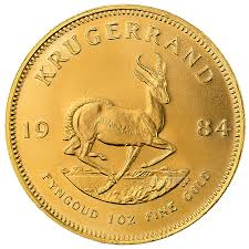South African Krugerrand Various Years 1 Oz