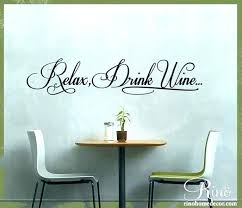 wall sayings vinyl kitchen decals for walls stickers decor medium size of