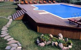 above ground pools decorating ideas. Plain Above Patio Decorating Ideas Stone Path Above Ground Pool Deck To Above Ground Pools Decorating Ideas D